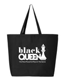 Black Queen Tote Bag