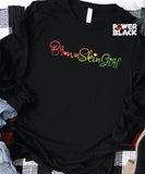 Brown Skin Girl Long Sleeve
