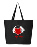 I Love Hip Hop Tote Bag