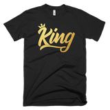 King and Queen Set (Metallic Gold)