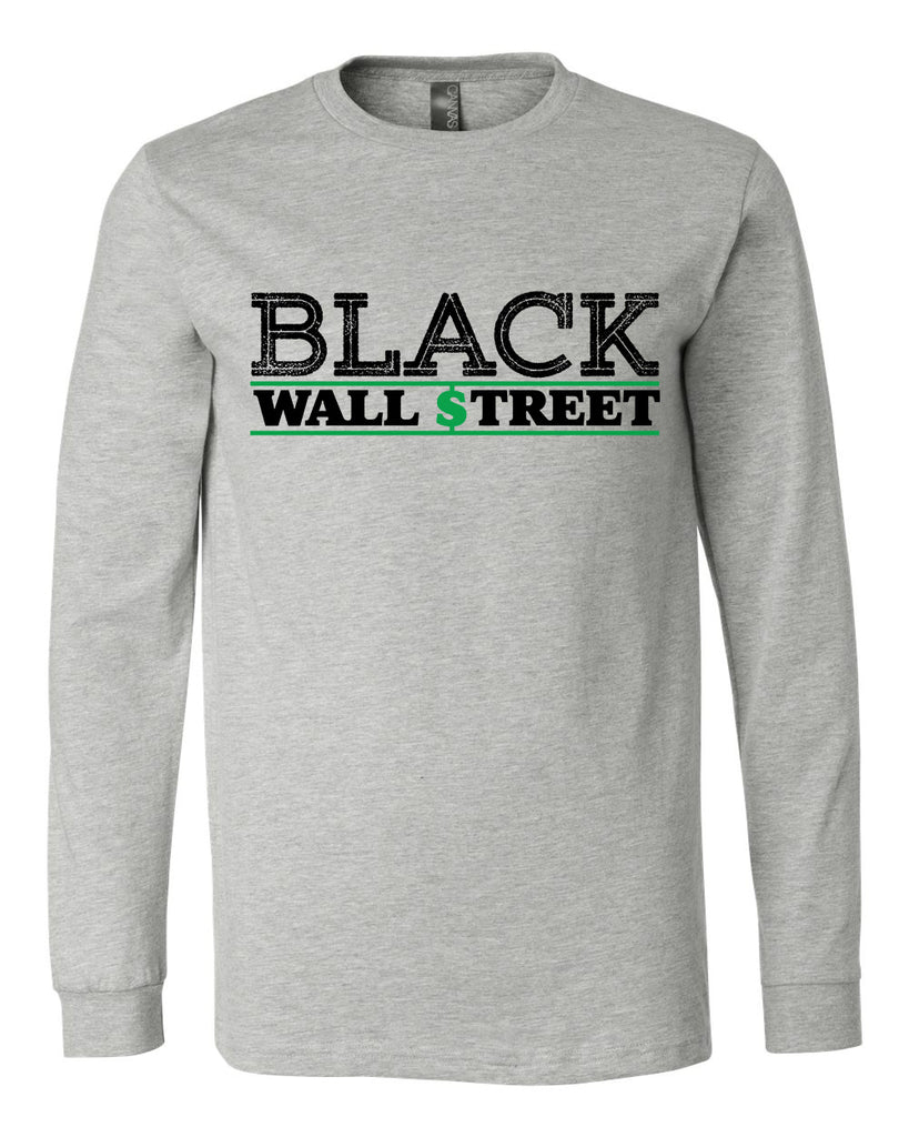 Black Wall Street Long Sleeve