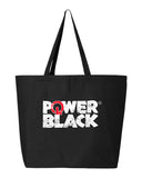 Power In Black ™️ Logo Tote