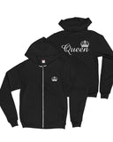 Queen Heavy Blend Zip Up Jacket