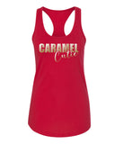 Caramel Cutie (Shiny Gold Foil) Tank Top