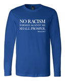 No Racism Formed Against Me Long Sleeve
