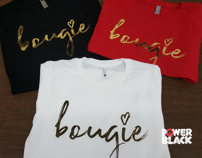 Bougie (Gold Foil)