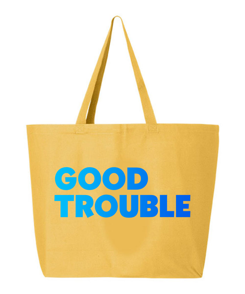 Good Trouble Tote Bag