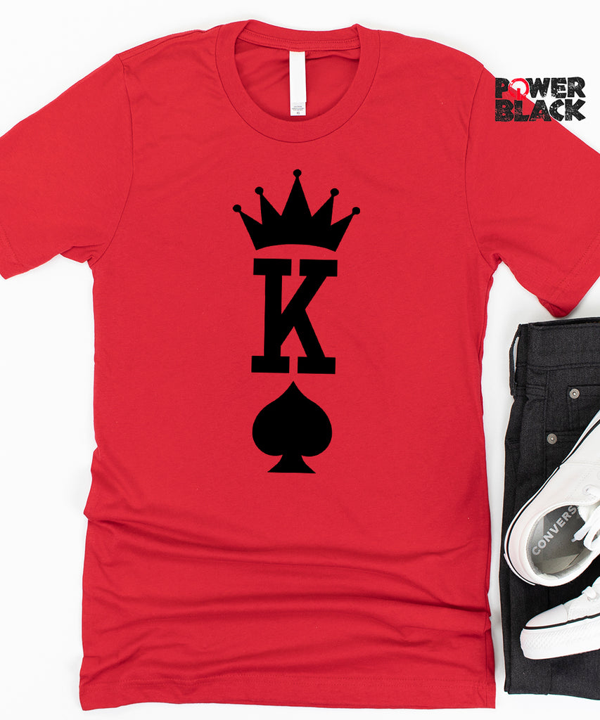 Large Print King of Spades