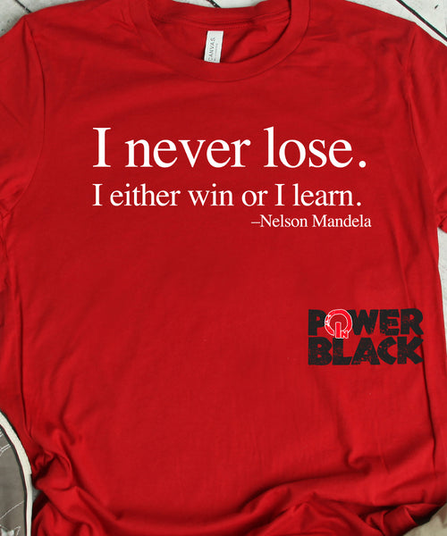 a576a5e7 I Never Lose -Nelson Mandela – Power In Black