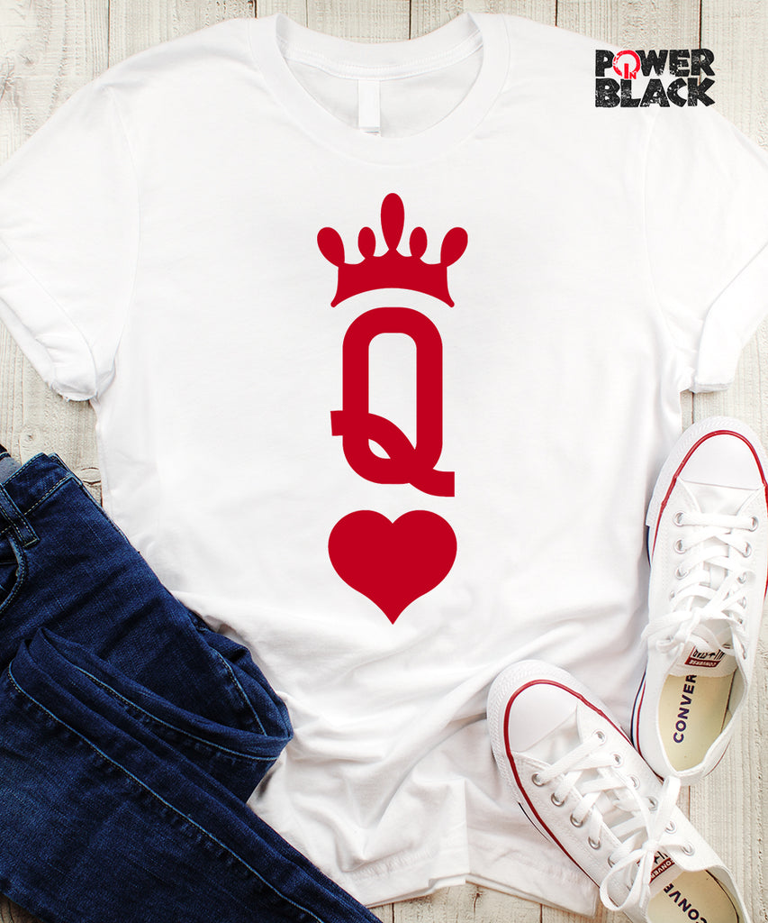 Large Print Queen of Hearts