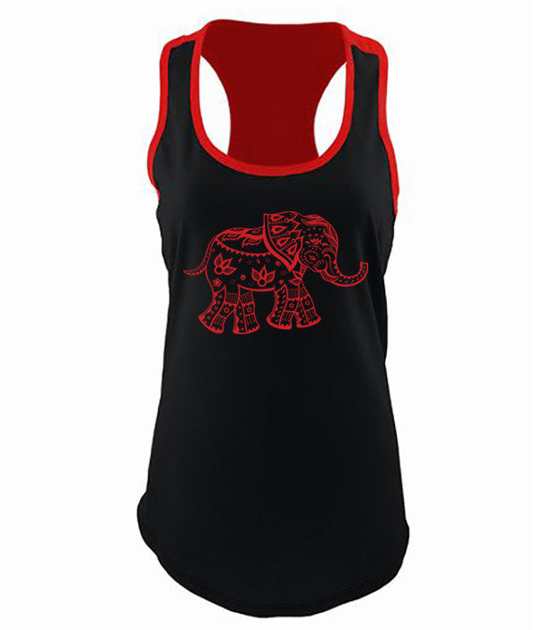 The Red Elephant Tank