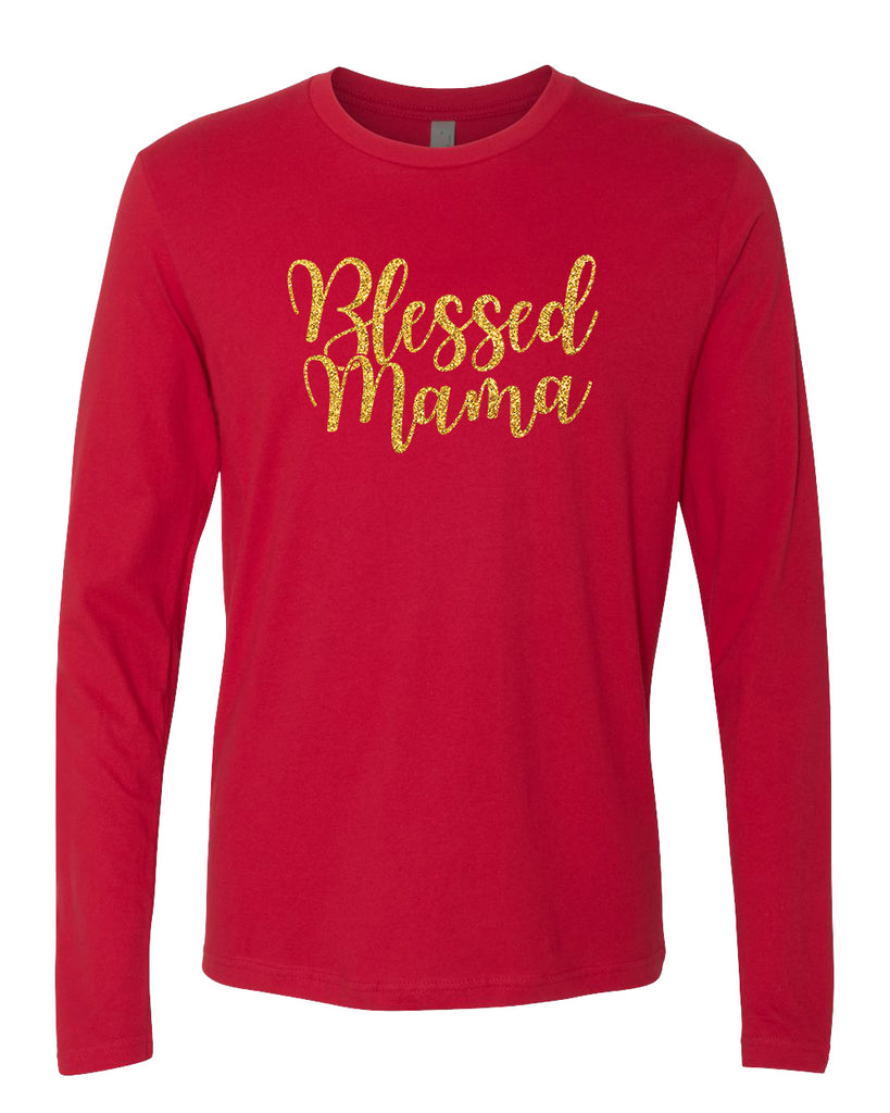 Blessed Mama (Shiny Gold Foil)