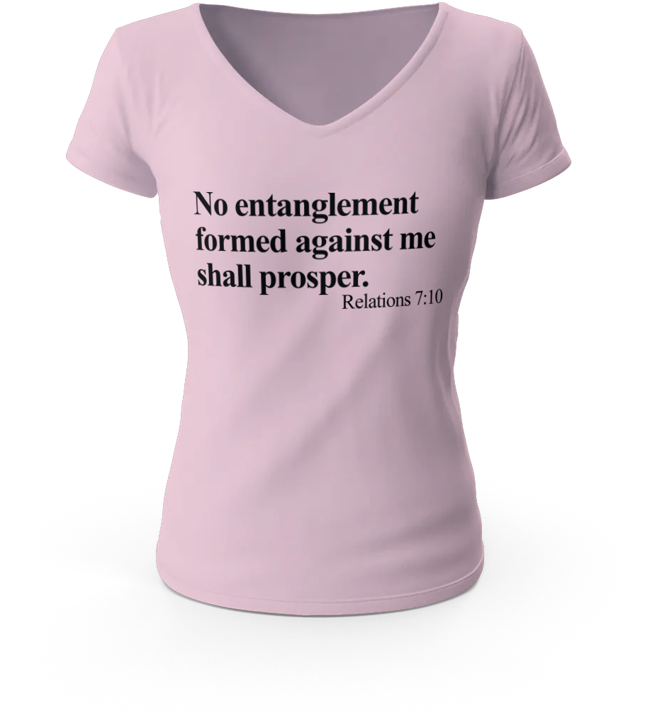 No Entanglement Formed Against Me