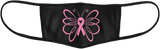 Breast Cancer Butterfly Mask