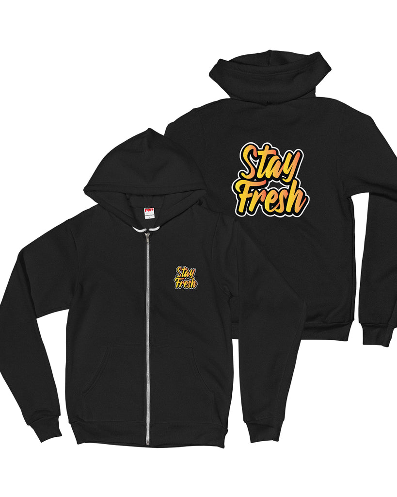 Stay Fresh Heavy Blend Zip Up Jacket