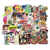 Image of 100 PCS Waterproof PVC Stickers- Random-No Duplicates- FREE + Shipping