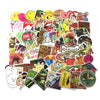 Image of 100 PCS Waterproof PVC Stickers- Random-No Duplicates