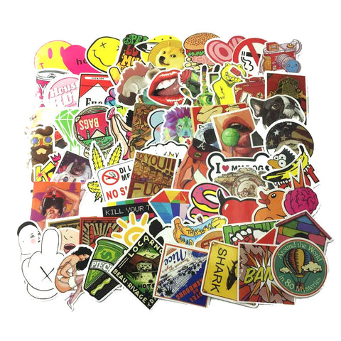 800 PCS Waterproof Stickers- Random-No Duplicates