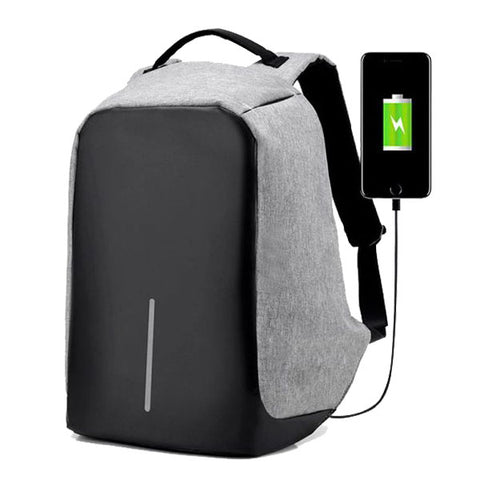 The Ultimate Anti-Theft Backpack with USB Charging