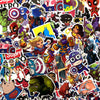 "Image of 100 PCS ""Super Heroes"" Waterproof Stickers"