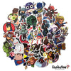 "Image of 50 PCS ""Super Heroes"" Waterproof Stickers"