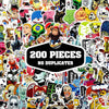 Image of 200 PCS Waterproof PVC Stickers- Random-No Duplicates