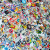Image of 400 PCS Waterproof PVC Stickers- Random-No Duplicates