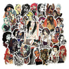 "Image of 45 PCS ""Tattooed"" Theme Waterproof Stickers"
