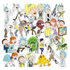 "Image of 100 PCS ""Rick & Morty"" Waterproof Stickers-SALE"