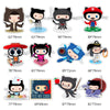 "Image of 24 PCS ""OctoCat"" Waterproof Stickers"