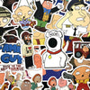 "Image of 100 PCS ""Family Guy"" Stickers"