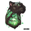 Image of Removable & Waterproof BEAST-A Temporary Tattoo-Large Sheet 21cmx15cm