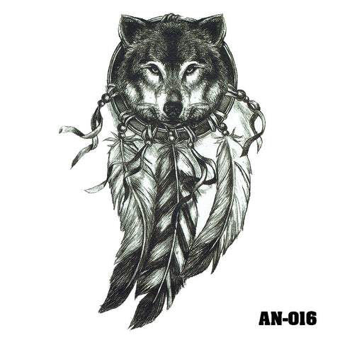 Removable & Waterproof DREAMCATCHER-A Temporary Tattoo-Large Sheet 21cmx15cm