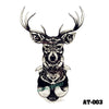 Image of Removable & Waterproof ANTLER Temporary Tattoo-Large Sheet 21cmx15cm