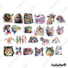 "Image of 50 PCS ""Abstract Animals"" Vinyl Stickers"