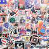 "Image of 90 PCS ""America"" Vinyl Stickers"