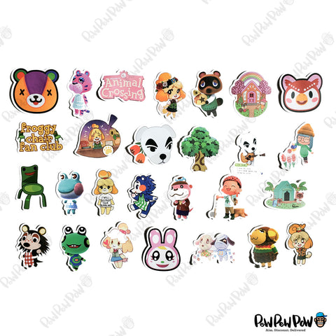"49 PCS ""Animal Crossing"" Vinyl Stickers"