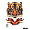 Image of Removable & Waterproof BEAST-B Temporary Tattoo-Large Sheet 21cmx15cm