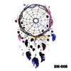Image of Removable & Waterproof DREAMCATCHER-A Temporary Tattoo-Large Sheet 21cmx15cm