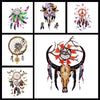 Image of Removable & Waterproof DREAMCATCHER-B Temporary Tattoo-Large Sheet 21cmx15cm