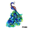 Image of Removable & Waterproof WINGS Temporary Tattoo-Large Sheet 21cmx15cm