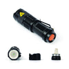 Image of LED Tactical 2000 lumens Ultra Bright Flashlight- Zoomable, 3 Torch Modes, Black