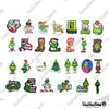"Image of 50 PCS ""Grinch Stole Christmas"" Vinyl Stickers"