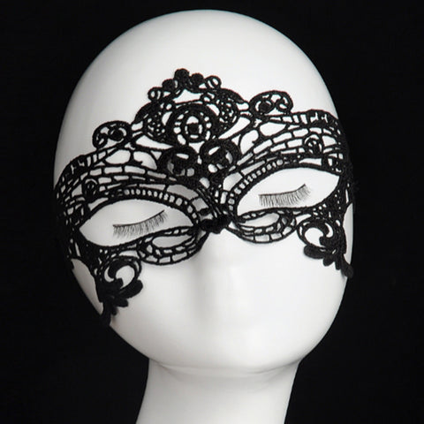 Sexy Mysterious Laced Eye Mask for Masquerade Ball Party Nightclub (Pack of 2)- FREE +Shipping