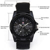 Image of Military Army Quartz Sport Watch for Men
