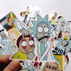 "Image of 100 PCS ""Rick & Morty"" Waterproof Stickers"