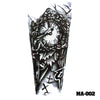 Image of Removable & Waterproof MACHINE Temporary Tattoo-Large Sheet 21cmx15cm
