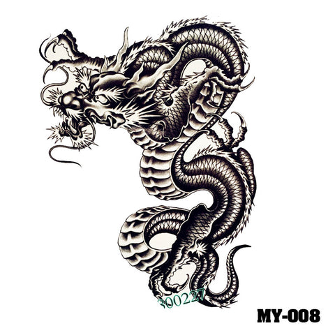Removable & Waterproof MYTHIC-B Temporary Tattoo-Large Sheet 21cmx15cm