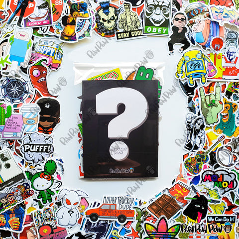 50 PCS Vinyl Stickers- Mystery Pack- FREE-Just Pay Shipping