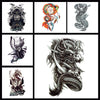 Image of Removable & Waterproof MYTHIC-A Temporary Tattoo-Large Sheet 21cmx15cm